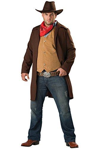 Rawhide Renegade Costume (InCharacter Costumes Men's Rawhide Renegade Costume, Brown/Tan,)