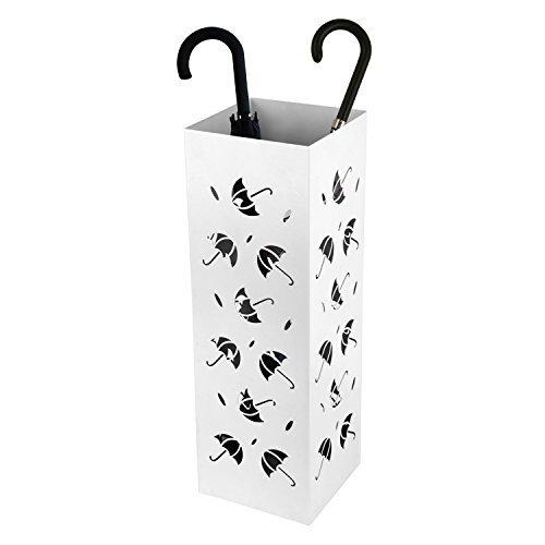 25 opinioni per Amzdeal Portaombrelli Porta Ombrelli Bianco in Ferro con un Modello di Piccolo