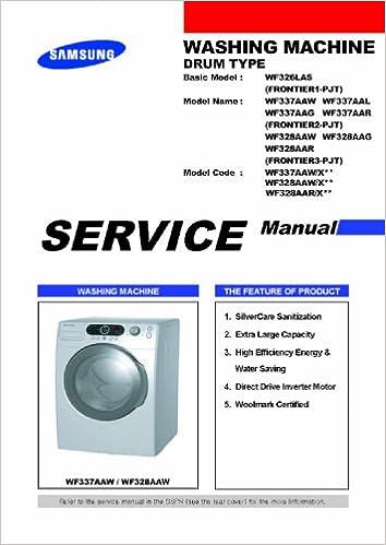 samsung dw5363 series dishwasher service manual