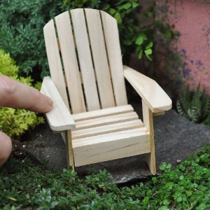 10 Adirondack Wood Chairs Wedding Party Favors 3.5