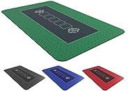 Bullets Playing Cards Tapis de Poker Professionnel 100 x 60 cm de pour Votre Propre Table de Poker - Plateau d
