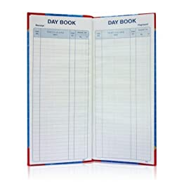 Amit stationery Point Day Book (14 x 6-inch) -100 Page