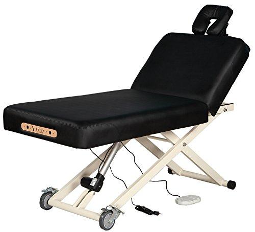 SierraComfort Adjustable Back Rest Electric Lift Massage...