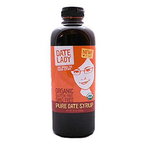 Date Lady Date Syrup Organic Pure Squeeze Bottle