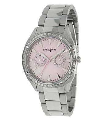PallyJane Damen-Armbanduhr Edelstahl 4051112