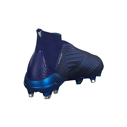 Adidas Predator Mænd 18 + Fg Fodboldstøvler Blå (uniink / Aergrn / Hiregr Uniink / Aergrn / Hiregr) y43SQ
