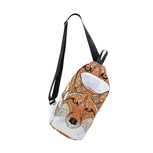 Chest Shoulder Men For One Bags Sling Women Bennigiry Fox Bag amp; Crossbody Backpack qXAtg
