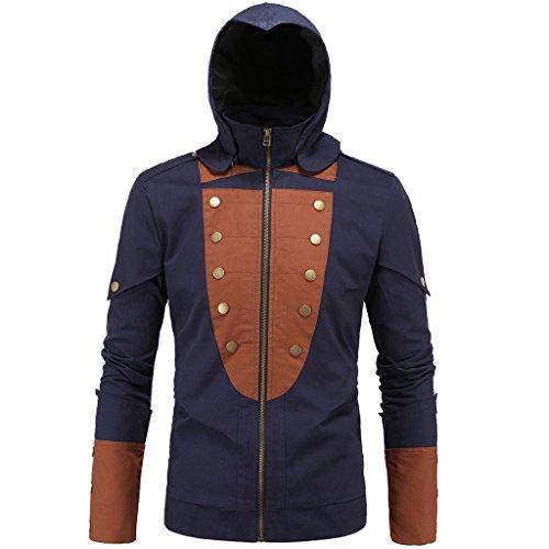 good Stunner Men's Assassin's Creed Jarno Hooded Jacket Fashion