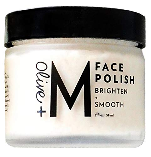 Olive + M All Natural Brighten + Smooth Face Polish (2 fl. oz. / 59 ml) by Olive + M