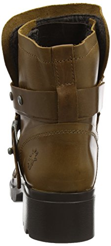 London Camel Bottes Fly Motardes Marron Femme Mok d0YnxqER