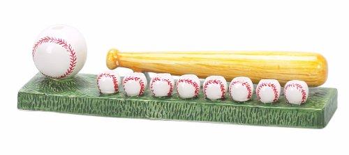 Ceramic Baseball Menorah