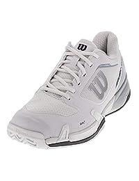 Wilson Men`s Rush Pro 2.5 Tennis Shoe, White/Pearl Blue/Iron Gate (9.5, W.