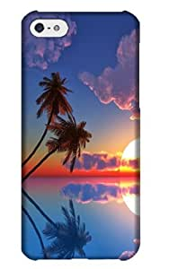 meilz aiaiFashionable Customized Specially Devised Palm Tree Durable Hard Plastic Case Cover For ipod touch 4meilz aiai