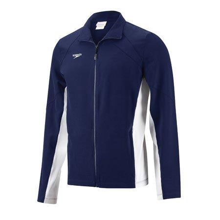 Speedo 7201304 Unisex Youth Boom Force Warm Up Jacket�, Navy, L