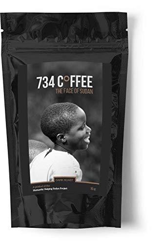 Bean Metro Coffee - 734 Coffee Dark Roast Whole Bean (16oz)