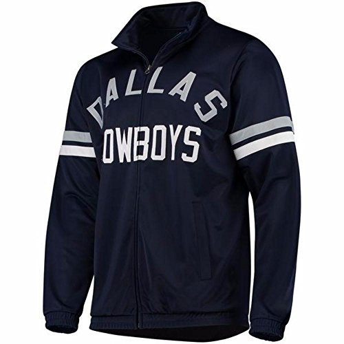 Dallas Cowboys Youth Navy Veteran Track (Dallas Cowboys Track Jacket)