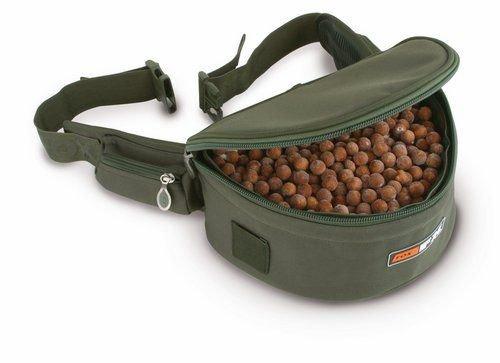 Fox FX Lined Bolie Bum Bag Gürteltasche, Angeltasche zum Anfüttern auf Karpfen, Karpfentasche für Karpfenköder & Angelköder