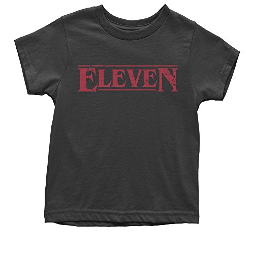 Expression Tees Youth Eleven T-Shirt Medium Black