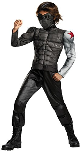 Winter Soldier Muscle Costume - Small (Winter Soldier Muscle Costume)