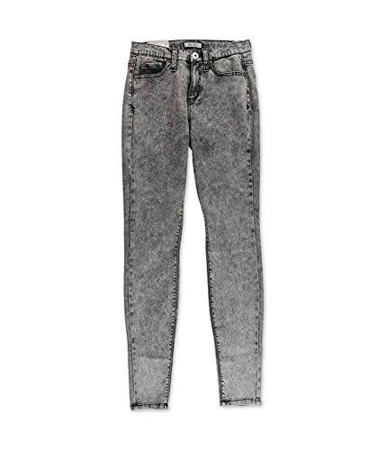 Acid Wash Color (Junior's Mudd High-Waisted Acid Wash Jeggings Color Black Acid (9))