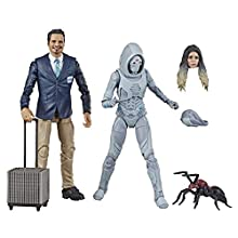 "Marvel Legends Series Ant-Man & The Wasp 6""-Scale Movie-Inspired X-Con Luis & Marvel's Ghost Collectible Action Figure 2 Pack"