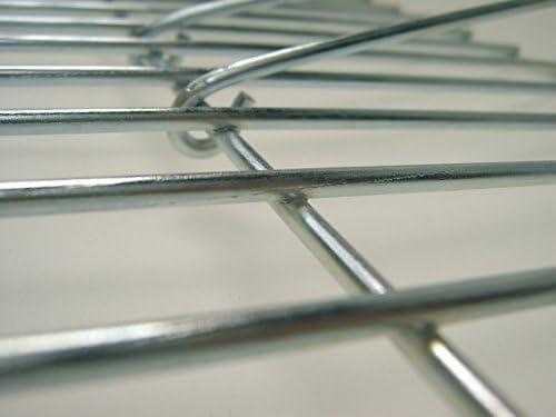Grille 60 x 60 cm, équipé de poignées rabattables ø 4 mm