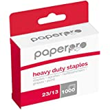 PaperPro 1913 Heavy Duty 23/13 Staples, 100 Sheet Capacity (Box of 1,000)