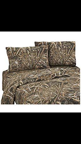 - 4-Pc Camouflage Sheet Set (King)