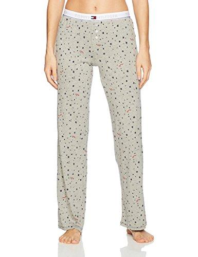 (Tommy Hilfiger Women's Logo Bottom Lounge Pajama Pant Pj, Falling Stars, Medium)