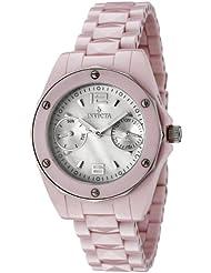 Invicta Womens 0299 Ceramics Collection Pink Ceramic Watch