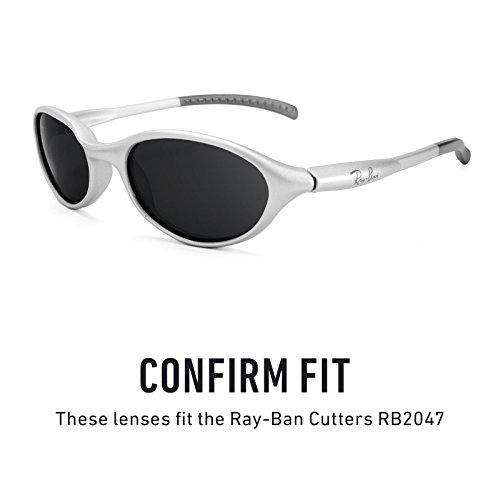Polarisés Ban rechange de Verres Titanium Cutters Ray RB2047 — MirrorShield® options Plusieurs pour wR7xxI5dq