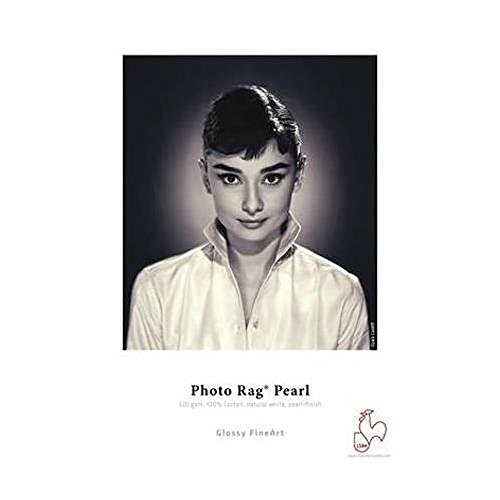 Hahnemuhle Pearl Photo Rag, 100 % Cotton Rag, Natural White Inkjet Paper, 320 g/mA, 11x17