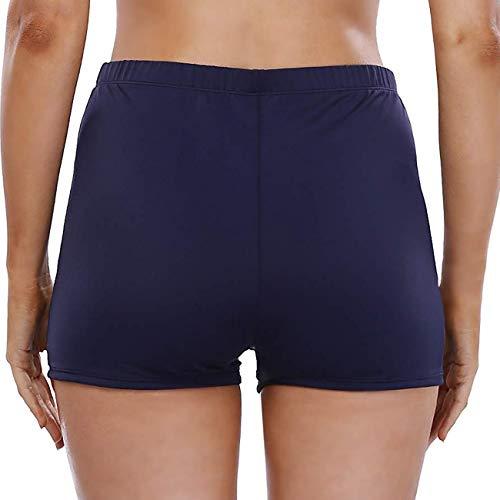 yilisha Womens Swim Shorts Boy Shorts Swimwear Board Shorts Long Beach Swimming Shorts Tankini with Shorts