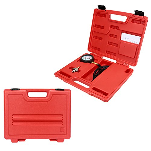 Carrfan Exhaust Back Pressure Tester Set Pressure Gauge Test Tool Kit Sensor - Exhaust Back Pressure Tester