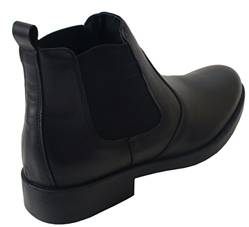 Imac ,  Herren Chelsea Boots Black Leather
