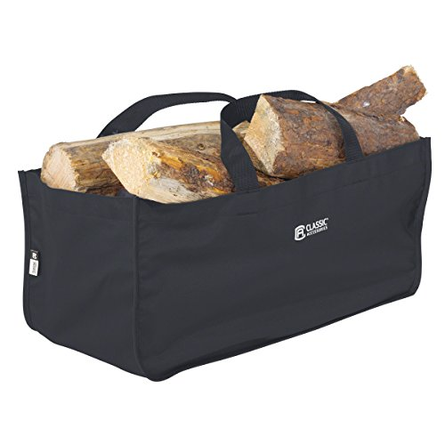 Classic Accessories Jumbo Log Carrier, Black