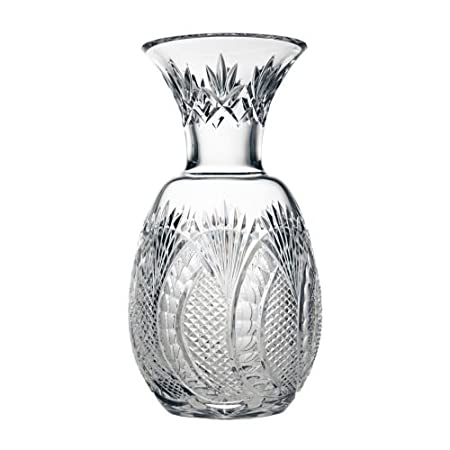 Waterford Crystal Seahorse Collection Pineapple Vase 12 Brand New