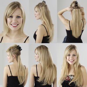 Amazon clip in on hair extensions 18 lord and cliff color clip in on hair extensions 18quot lord and cliff color 1b30 pmusecretfo Choice Image