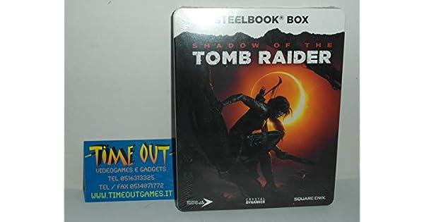 Shadow of the Tomb Raider Steelbook [Importación alemana]: Amazon ...