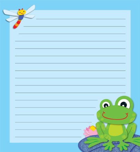 Carson Dellosa Funky Frog Notes Notepad (151060)