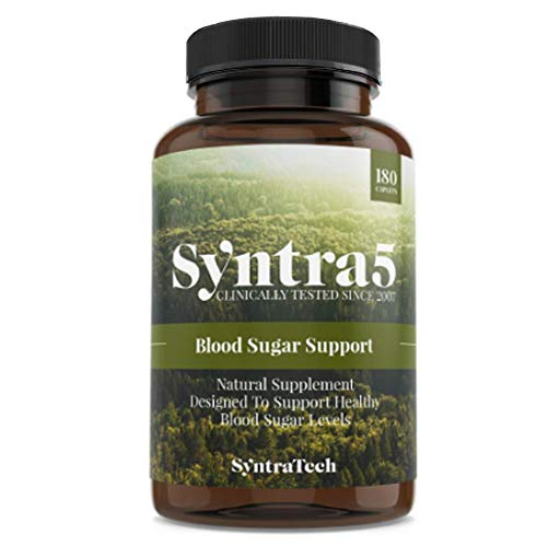 Nutrition Hcl Minerals Betaine - Syntratech Syntra5 180 Caps - Multi-Faceted Blood Sugar Support Formula - Assists in Maintaining Healthy Blood Sugar Levels - Backed by Clinical Research