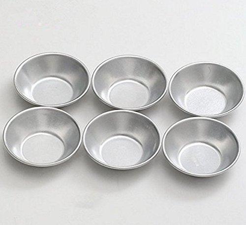 Good news 25 Pcs Mini Pie Muffin Cupcake Pans Egg Tart Bakeware -NonStick Puto Cup