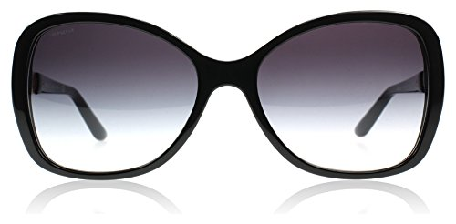 Versace Women's VE4271B-GB1/8G-58 Black Cat Eye Sunglasses