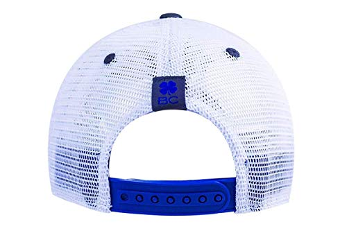 Amazon.com  Black Clover Blue Grey White 2-Tone Vintage  10 Snapback Hat   Sports   Outdoors 42668c82a4bc