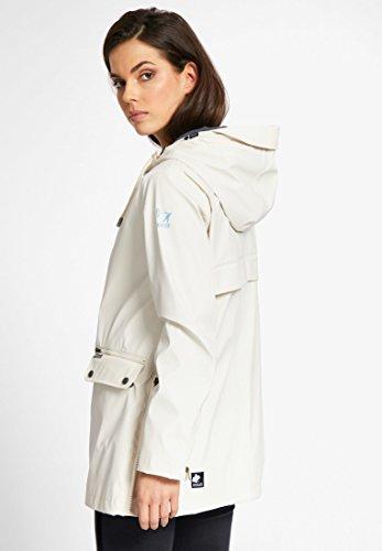 Larga Weiß Básico Blusa Khujo Mujer Chaqueta para Manga 61f0nI0B