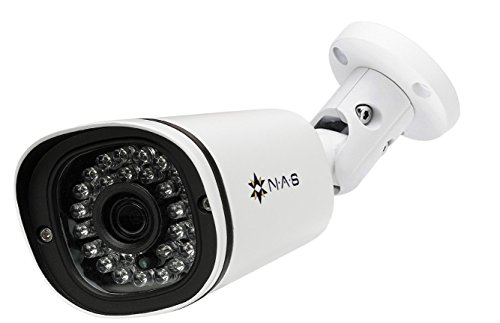 - NA Stream IP Camera 5 Megapixels WDR PoE Bullet Security Camera Sony Sensor Fixed Wide Angle Lens Waterproof Surveillance Camera Motion Detection Built-in Microphone IP67 ONVIF P2P FTP