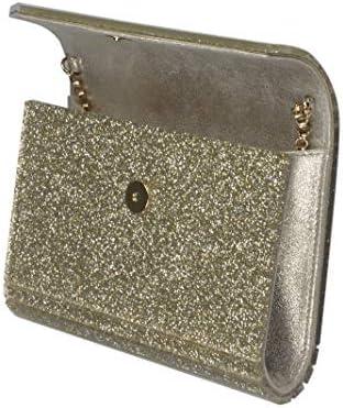 Jimmy Choo Luxury Fashion Donna CANDYGACCHAMPAGN Oro Acrilico Borsa A Spalla | Primavera-estate 20