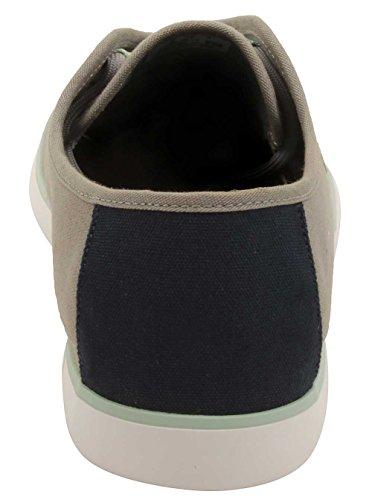 Lacoste Mens Ovrhnd 416 Sneakers I Grå / Svart Grå / Marinblå