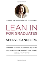 Lean In for Graduates Front Cover