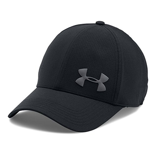 Under Armour Men's ArmourVent Training Cap, Black/Black, Med